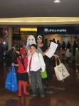 Eco, Oz, Zia, and I at the SM Megamall Halloween Event